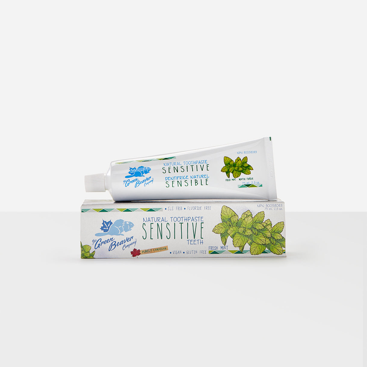 sensitive teeth natural toothpaste | Green Beaver