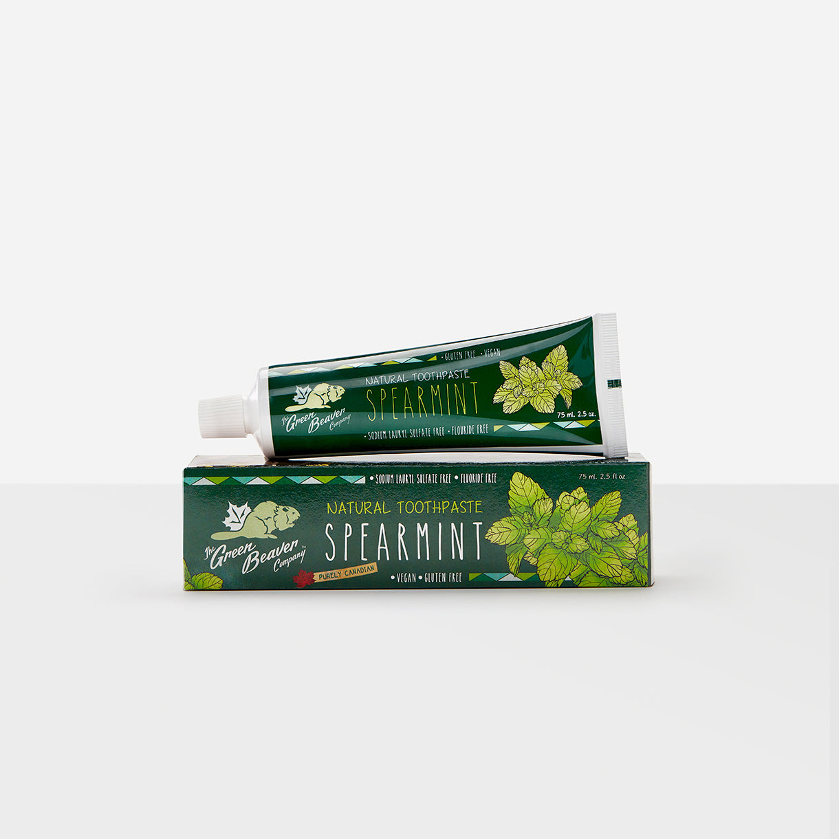 spearmint natural toothpaste | Green Beaver