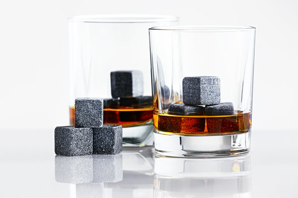 coupleDots Whiskey Stones and Stainless Steel Drinking Straw Set - EcoFreax | Think Bigger.