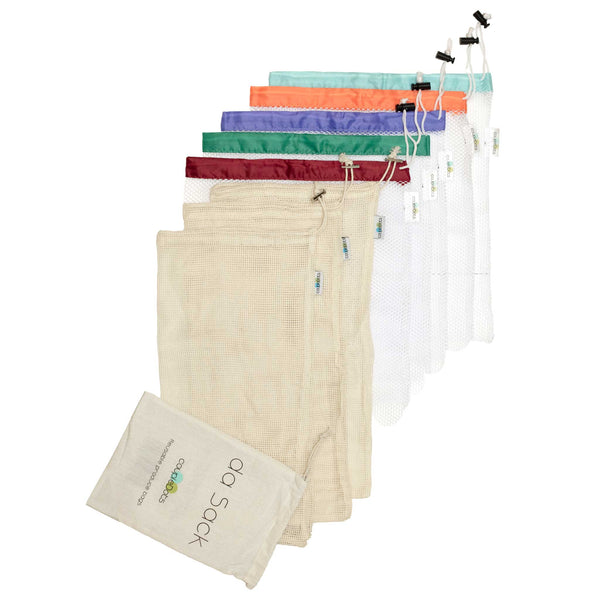 da Sack Reusable Mesh and Organic Cotton  Produce Bags - EcoFreax | Think Bigger.