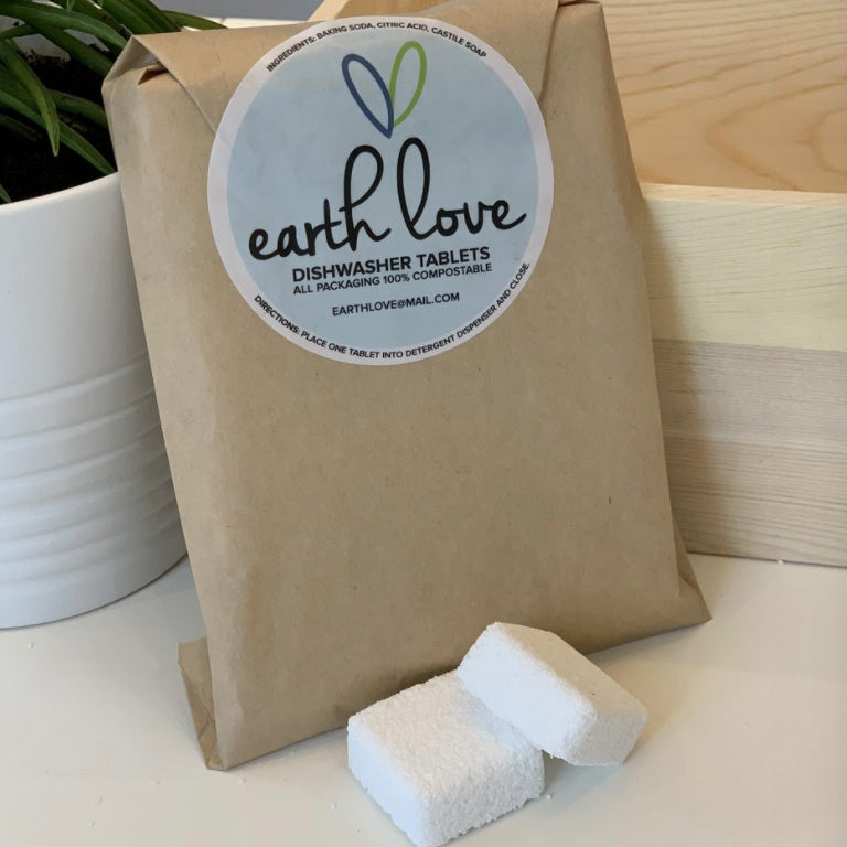 all natural dishwasher tablets | earth love