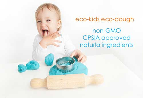 eco-kids | natural eco-dough homemade playdough