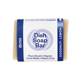 dish soap bar - coconut lemon