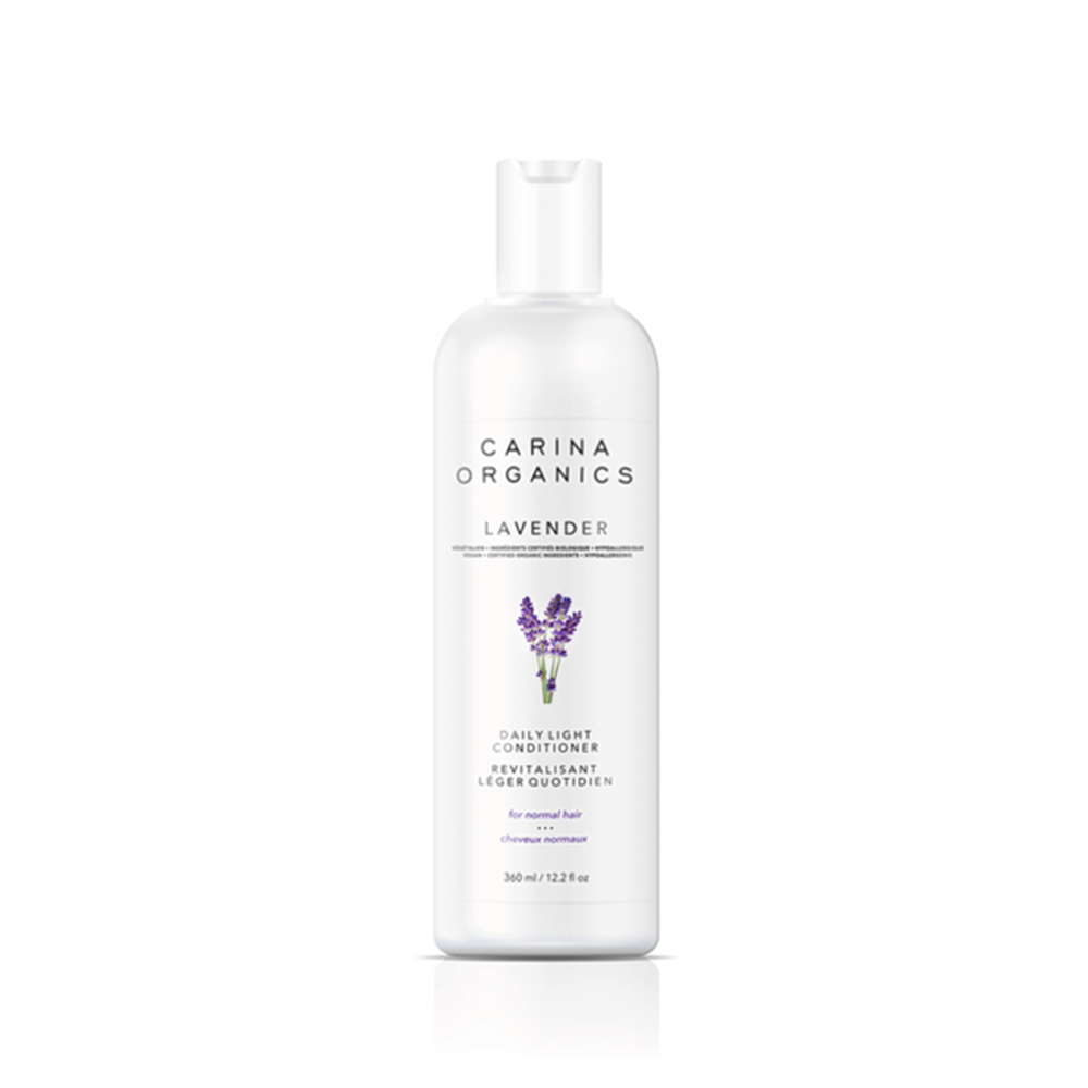 lavender daily light conditioner for normal hair