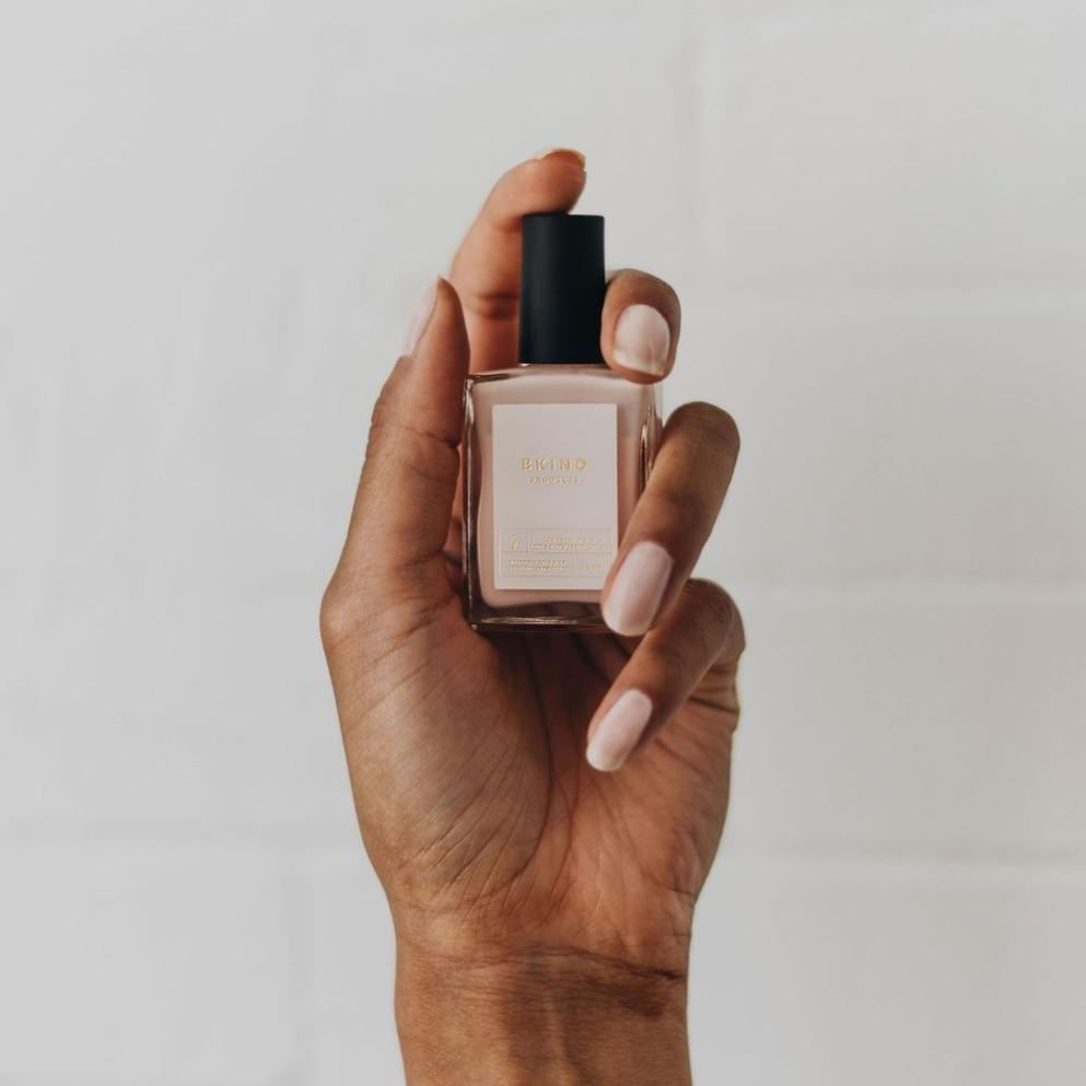 vegan nail polish - french pink