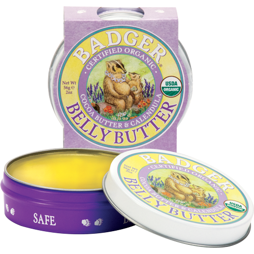 organic pregnant belly butter - pregnancy soothing cream