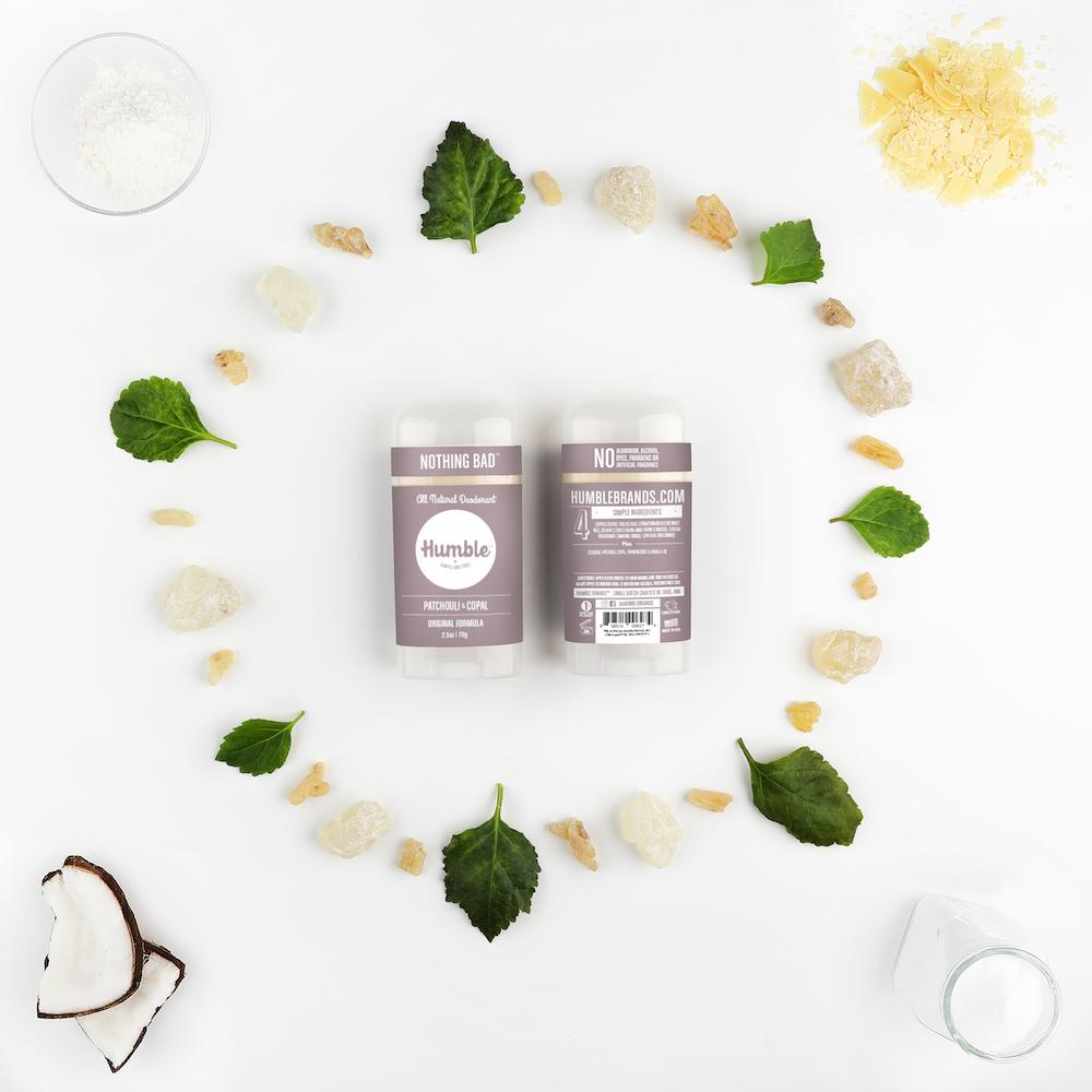 all natural deodorant - patchouli & copal