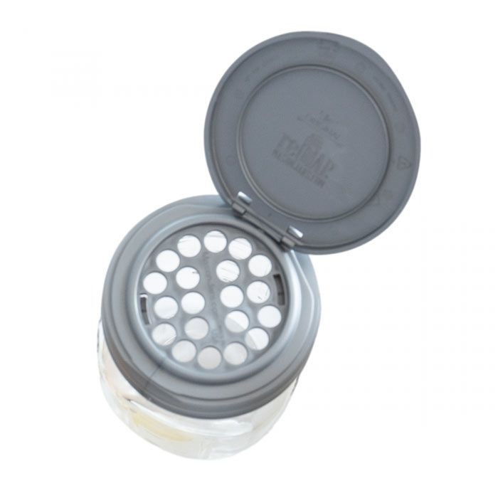 Mason Jars Shaker Inserts For Regular Mouth FLIP & POUR CARRY Lids