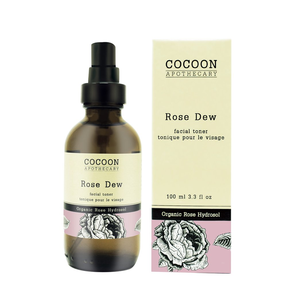 rose dew facial skin toner - vegan & plant based