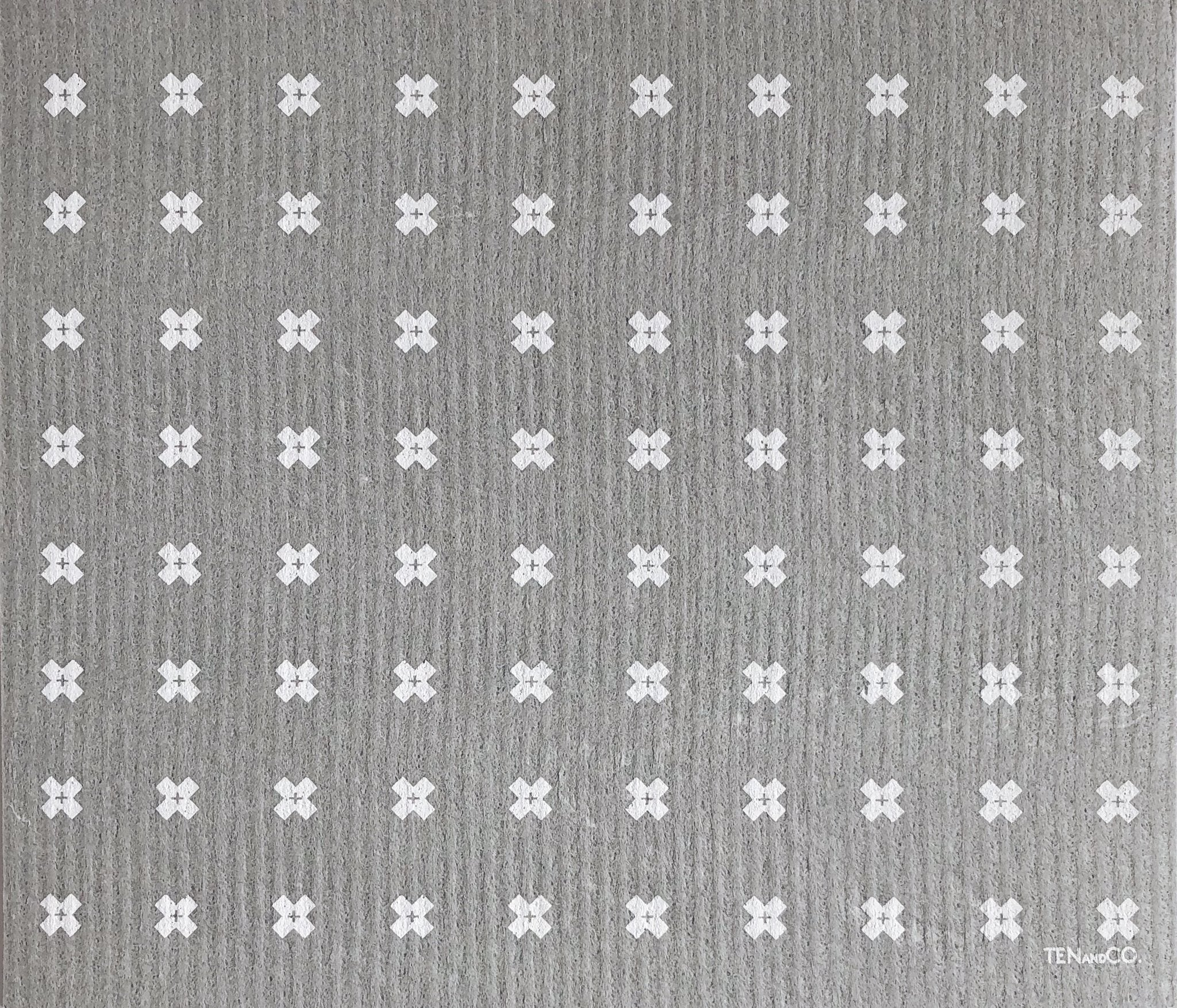 white cross swedish cellulose sponge cloth