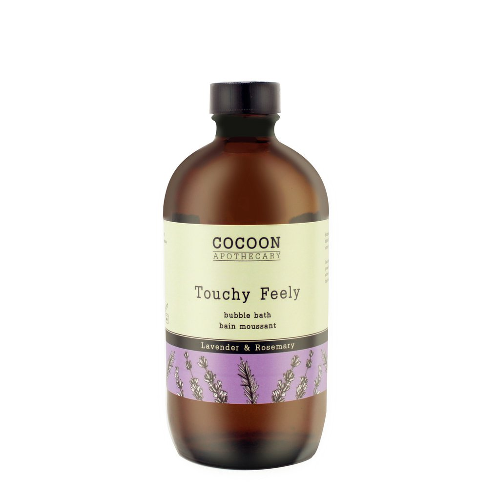touchy feeley bubble bath - all natural soap