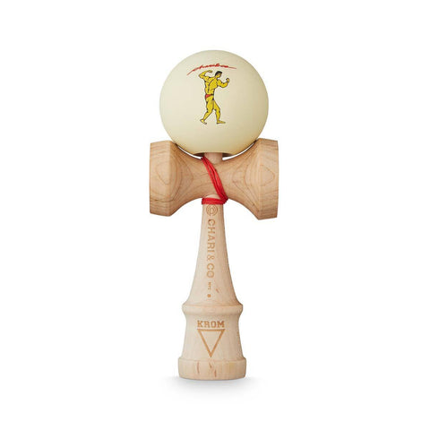 KROM X CHARI Muscle Cream kendama