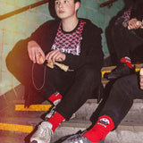 KROM x BIBI Ajagak Red socks