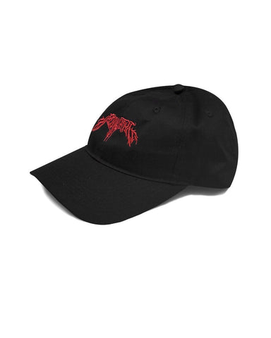 KROM Dad Cap hat - Slaydawg Red