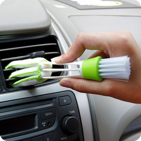 1PC Car Cleaning Brush Double Ended Car Air Vent Slit Cleaner Brush Dusting Blinds Keyboard Cleaning Brushes Home Cleaner 531|Cleaning Brushes| |  - AliExpress
