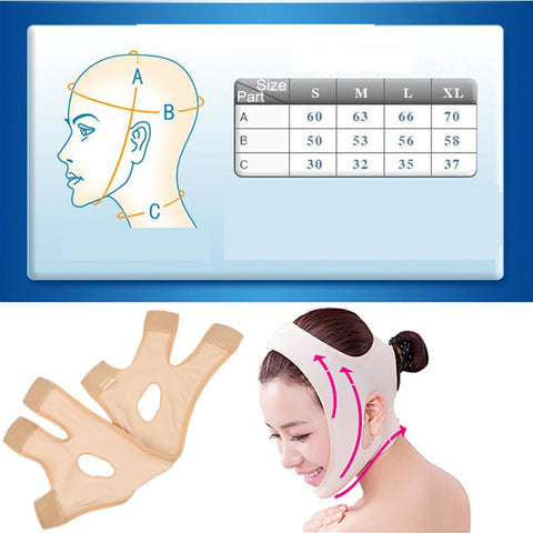 Delicate Facial Thin Face Mask Slimming Bandage Skin Care Belt - Stella Select