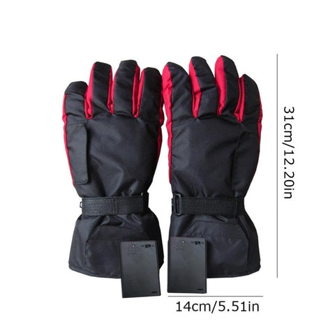 Battery Powered Carbon Fiber Heating Gloves - Stella Select