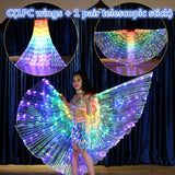 Children LED Butterfly Wings Costume