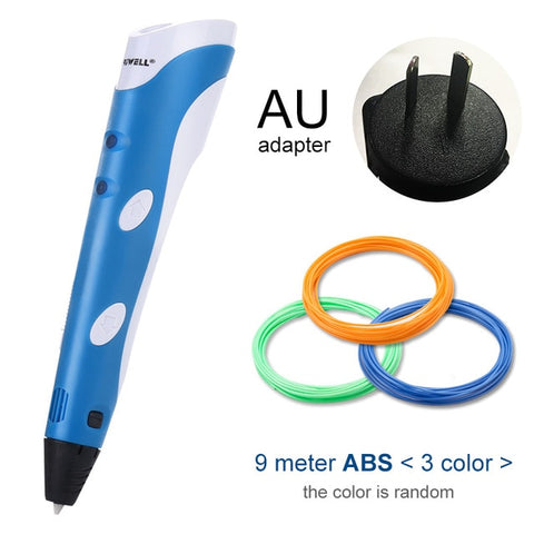 Myriwell 3D Pen Original DIY 3D Printing Pen With 100M ABS/PLA Filament Creative Toy Gift For Kids Design Drawing