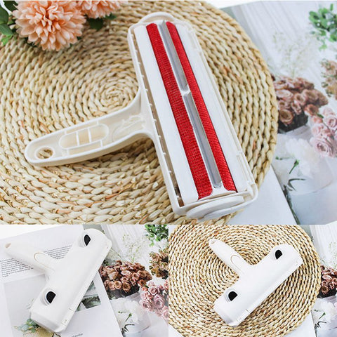 Reusable Pet Hair Remover Dog Fur Roller Sofa Clothes Cleaning Brush Pet Hair Remover Reusable Dog Cat Lint Pet Hair Remover