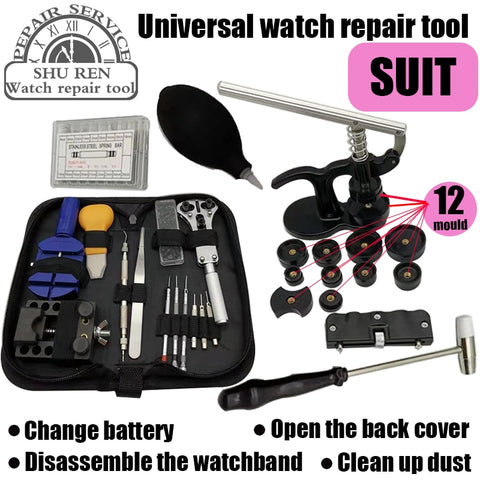 Free shipping,repair tool, Watch Tool, Watch Opener, Replace Battery Opener, Watch Belt Remover, Watch Rear Cover Installer