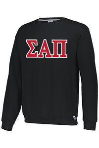 Black Long Sleeve Greek Sweatshirt - Men's
