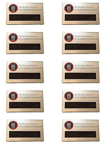 Official NSLS Name Tag (Pack of 10 Save 20%)