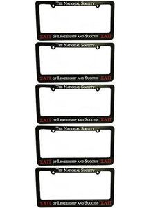 Society License Plate Holder (Pack of 5)