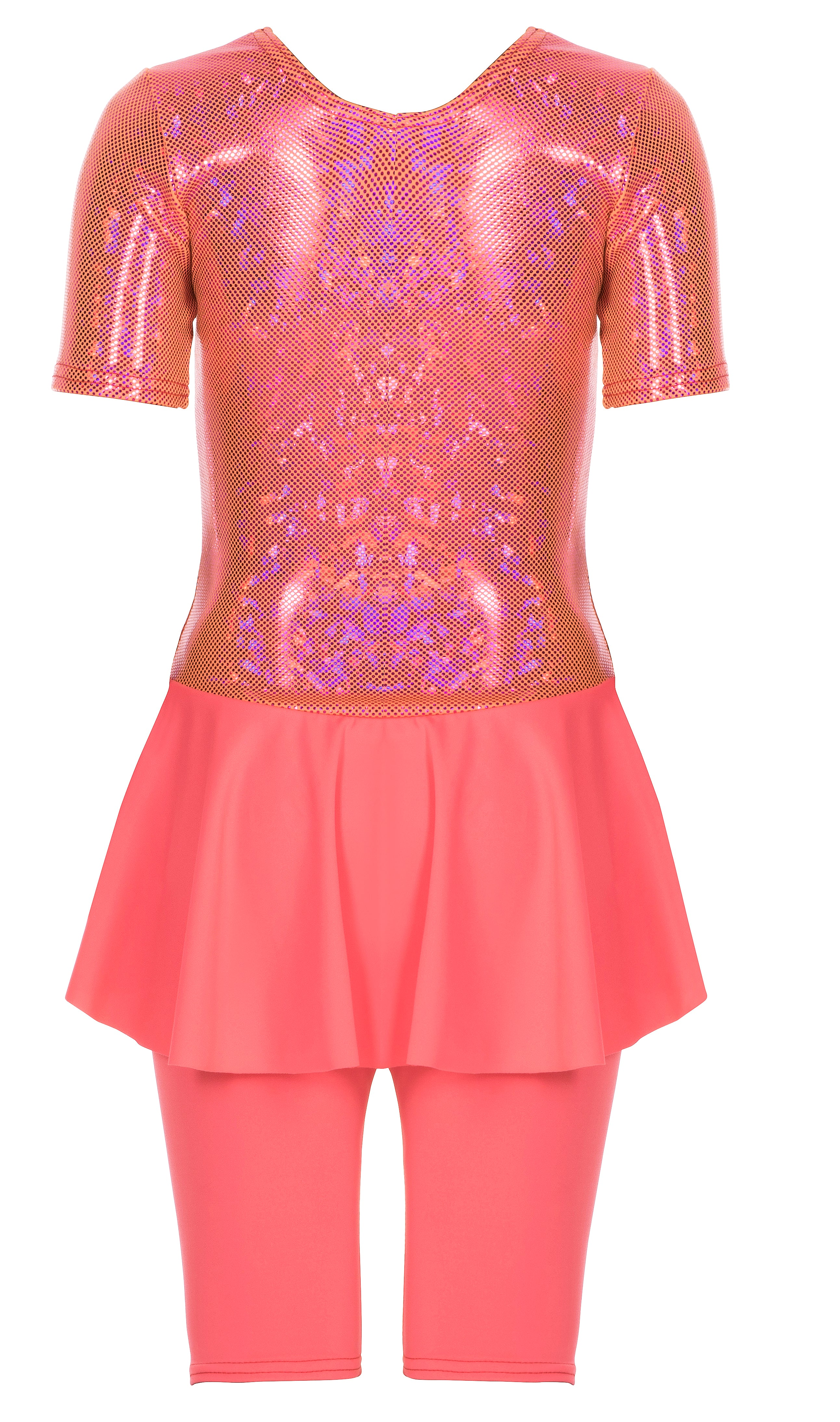 Belle Coral Girls Suit - Livy Loves