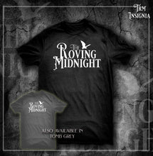 Load image into Gallery viewer, Shirt- The Roving Midnight LOGO DARK
