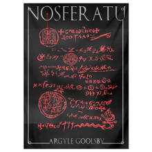 Load image into Gallery viewer, Tapestry- Nosferatu GNOSIS