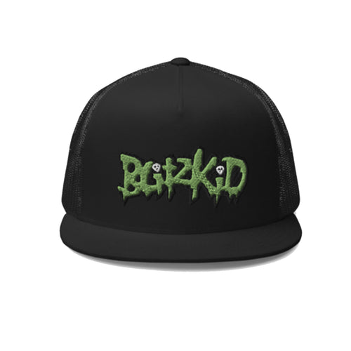 Snapback Trucker Hat- Blitzkid CLASSIC LOGO (embroidered)