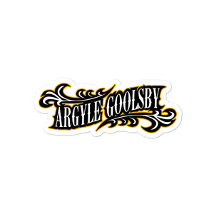 Sticker- Argyle Goolsby PROMETHEUS
