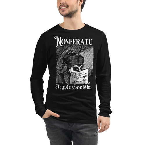 Nosferatu- OVER A DYING FIRE Long Sleeve
