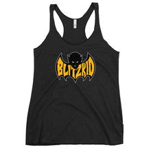 Load image into Gallery viewer, Racerback Tank- Blitzkid SHADOWBAT ORANGE