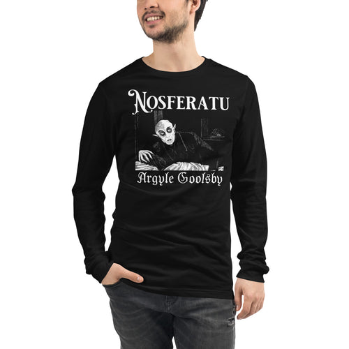 Nosferatu- SERPENT ON THE LACE Long Sleeve