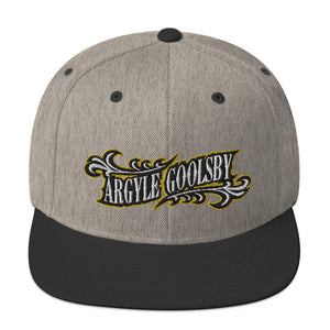 Snapback Canvas Hat- Argyle Goolsby PROMETHEUS (embriodered)