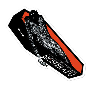 Sticker- Nosferatu COFFIN RISER