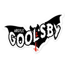 Load image into Gallery viewer, Sticker- Argyle Goolsby NIGHT MESSENGER