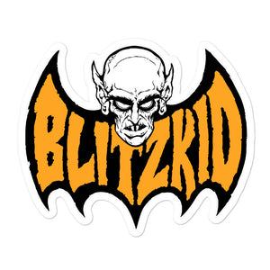 Sticker- Blitzkid BLITZBAT ORANGE