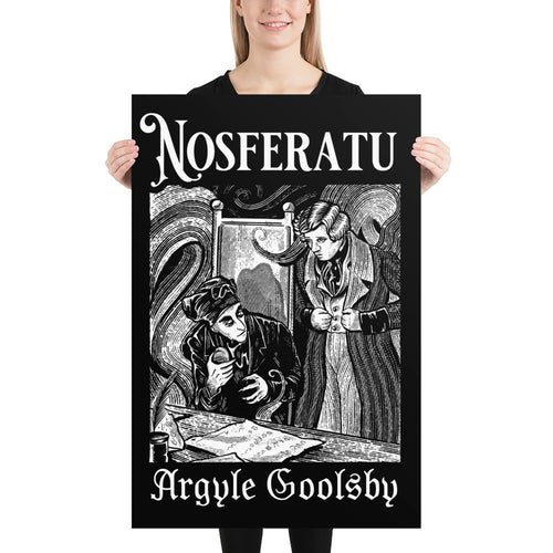 Nosferatu- SPIDER ON THE QUILL Poster