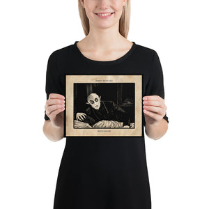 "Nosferatu ""SERPENT ON THE LACE"" Print"