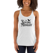 Load image into Gallery viewer, Racerback Tank- The Roving Midnight LOGO LIGHT