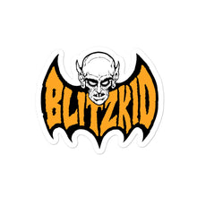 Load image into Gallery viewer, Sticker- Blitzkid BLITZBAT ORANGE