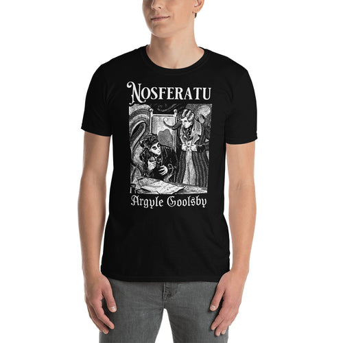 Shirt-Nosferatu SPIDER ON THE QUILL