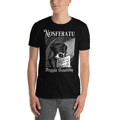 Shirt- Nosferatu OVER A DYING FIRE