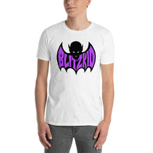 Load image into Gallery viewer, Shirt- Blitzkid SHADOWBAT PURPLE