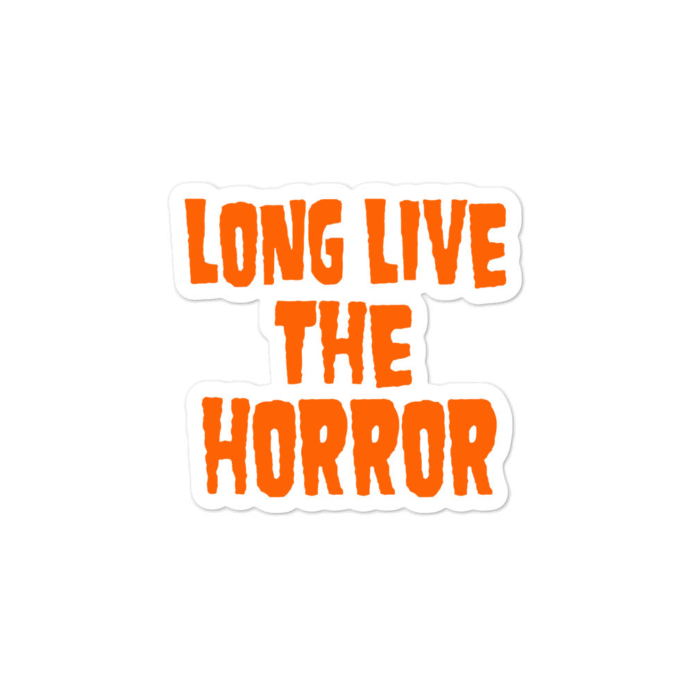Sticker- Blitzkid LLTH ORANGE