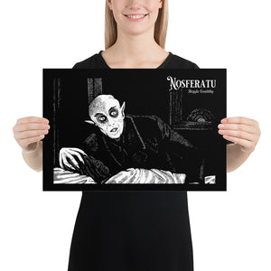 Poster- Nosferatu SERPENT ON THE LACE