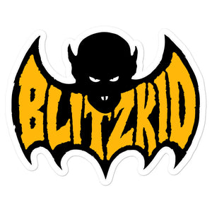 Sticker- Blitzkid SHADOWBAT ORANGE